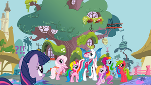 My Little Pony FiM new cast by mlpAzureGlow