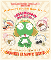 CON : Super Happy Rice by blackgothique