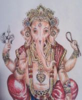 Ganesh by TheMajesticCarnival