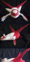 Latias Plush by Hikara-Productions