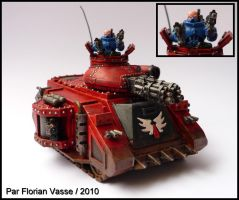 Predator Baal Blood Angels by Flomyen