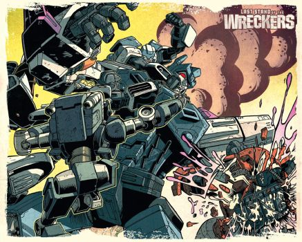 Wreckers Wallpaper 2 by dcjosh