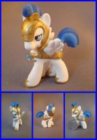 White Pegasus guard blind bag by hannaliten