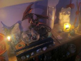 my altar (kind of) by killjoiz