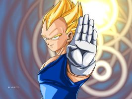 Vegetto: Vegeta The Most threatening DBZ by vegetto-vegito