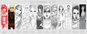 2013 Summary of Art by gabulinka