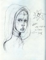 WTF doodle by kamarza