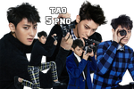 EXO Tao PNG Pack {The Celebrity} by kamjong-kai
