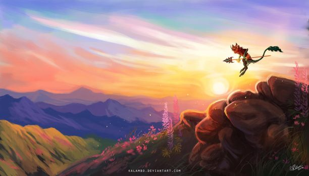 Sun up high by kalambo