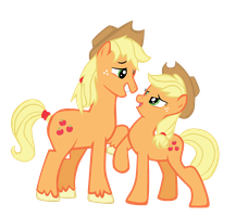 Aj x Apple Jack by passeronero