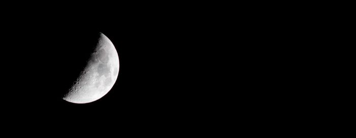 Moon on 10th february by whiteLion07