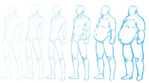 male body type practice by Bostonology