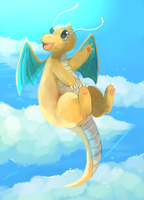 Dragonite by Cherkivi