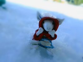 egie is the snow by wantedredfox