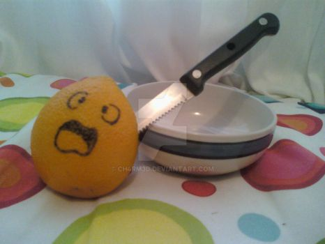 I killed the orange by Ch4rm3d