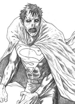 ZOMBIE SUPERMAN by gombez
