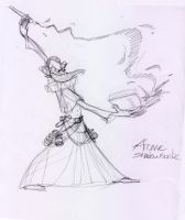 Arcane Shadowscribe rough by MatthiusMonkey