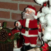 Santaclaus doll close-up by steppelandstock
