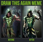 Draw this Again: Green Arrow by GavinMichelli