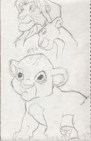 Lion King and baby king by AngelLover89