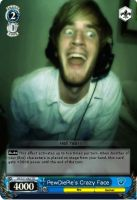 Weiss Schwarz PewDiePie card (Fan Made) by ArtinScott