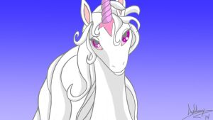 The Last Unicorn - Amalthea by Marty--McFly