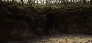 Cave Entrance by JoakimOlofsson