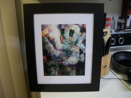Third Eye abstract hand by unspoken411