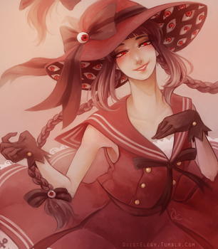 Wadanohara - Red Sea Witch by QuietElegy