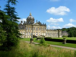 Castle Howard Stock 1 by Queenselphie