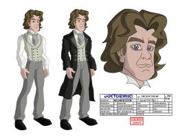 DW Animated -  8th Doctor by kelvin8