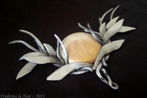 Lady Galadriel's Brooch ~ The Hobbit/LOTR by Frederica-La-Noir