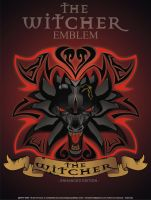 emblem the witcher by komatkomik