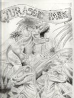 Jurassic Park by hellstained