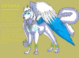 oriana the queen by bluepawz
