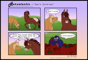 Horsetastic - Apple Syndrome by DolphyDolphiana