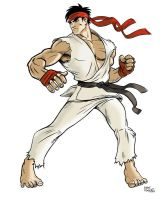 Ryu... again?? by mikeyroberts