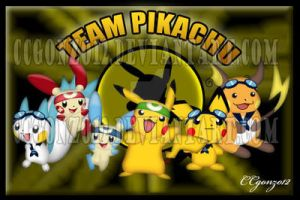 Pikachu Team by CCgonzo12