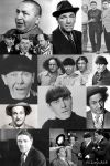 The Three Stooges Collage by Cindy-S