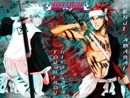 BLEACH wallpaper by spiegelscythe