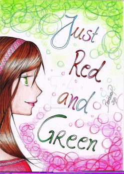 Just red and green by anime121girl
