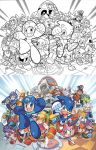 Sonic the Hedgehog 250 Variant Cover(s) by herms85