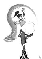 Korra: Natural Handicap (Request) by JayArru