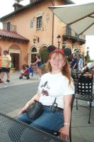 Me at Epcot by Gosalyn2007