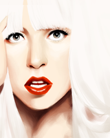 gaga speedpaint by ikipud