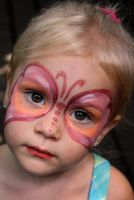 Face Paint Butterfly by armanique