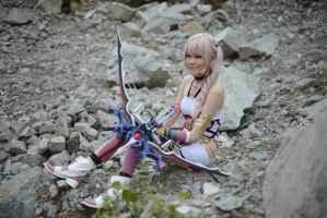 Serah Farron : Just Chill' by Tiburonsama