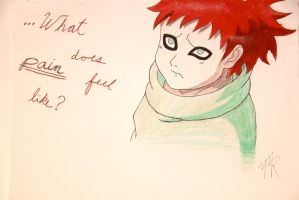Gaara of the Desert from Naruto by maisiemarie