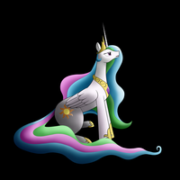 Princess Celestia by Tanail