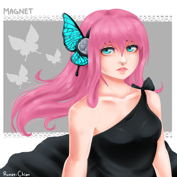 Magnet - Megurine Luka by Rumay-Chian